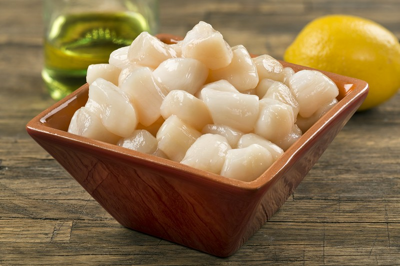 CHINA 6 x 5lb IQF Sea Scallops, Dry