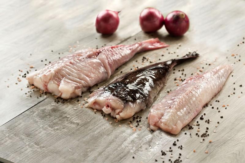 Fresh Monkfish Tails, Skin on